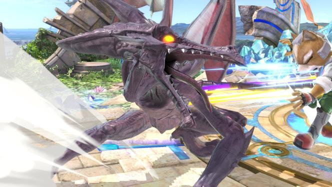 Ridley, personnage de «Metroid»adapté dans «Super Smash Bros. Ultimate».
