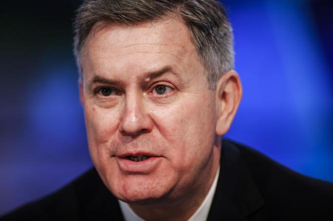 Tim Leiweke, le PDG le PDG d'Oak View Group, à Toronto (Canada), en avril 2014.