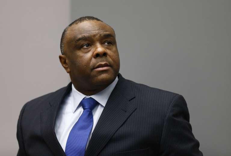 Jean-Pierre Bemba à la Cour pénale internationale de La Haye, le 8 juin 2018.