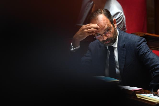 Le premier ministre Edouard Philippe à l'Assemblée, le 12 juin.
