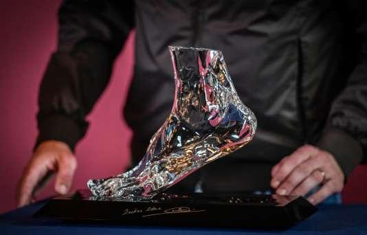 Le Cristalfoot, créé par Baccarat pour l'association ELA.