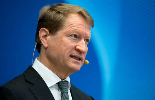 Ulrich Wilhelm, président de l'ARD, première chaîne publique allemande (ici à Munich, le 7 février), est attendu mercredi à Paris, où il défendra un projet de plate-forme numérique européenne.