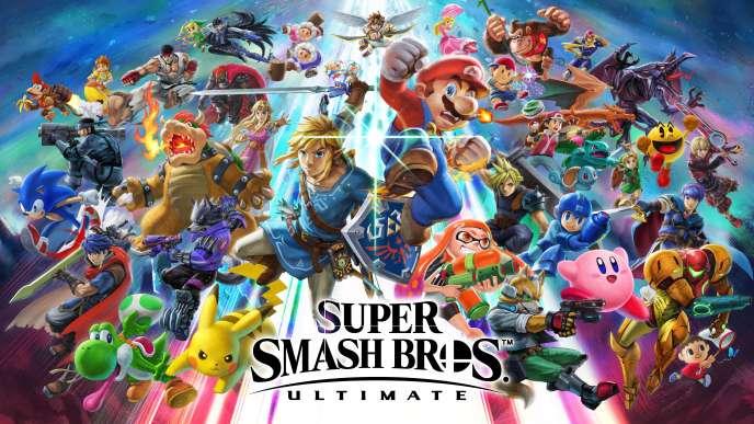 « Super Smash Bros. Ultimate » réunit une soixantaine de personnages.