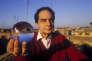 Italo Calvino à Rome, en décembre 1984.