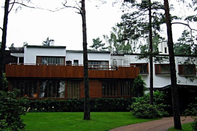 La villa Mairea, réalisée entre 1938 et 1939 par Alvar Aalto à Noormarkku (Finlande).
