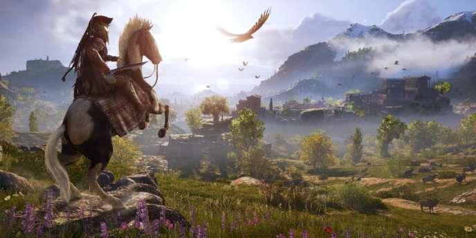 «Assassin's Creed Odyssey», le nouvel épisode hellène de la saga d'Ubisoft.