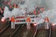Manifestation de cheminots, à Bayonne, le 7 juin.