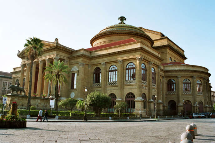 LeTeatro Massimo Vittorio Emanuele, opéra de Palerme.