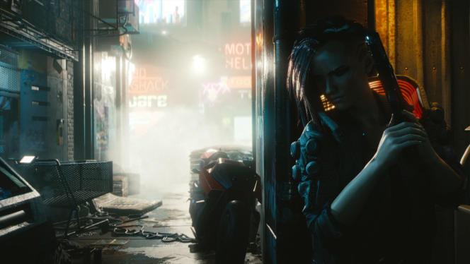 La vue à la première personne ne trompe pas :« Cyberpunk 2077» est un jeu de rôle très orienté action.