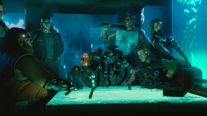 Les membres du gang Maelstrom, fous de technologie, font de la contrebande de robots high tech.