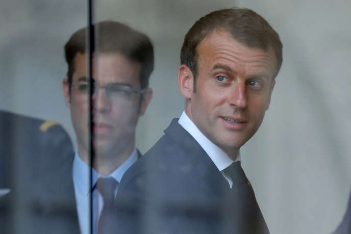 Emmanuel Macron, le 28 mai à l'Elysée.