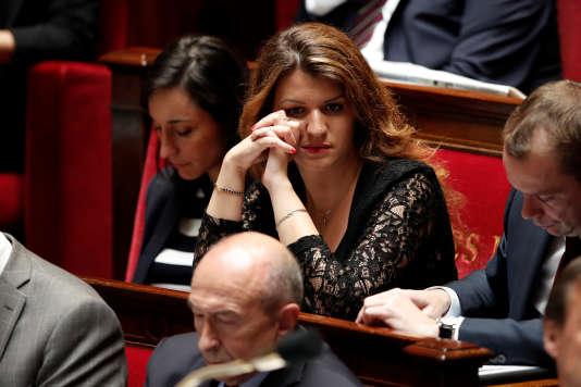 Marlène Schiappa à l'Assemblée nationale le 13 juin.