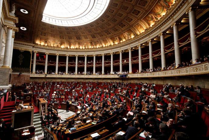 A l'Assemblée nationale, le 13 juin.