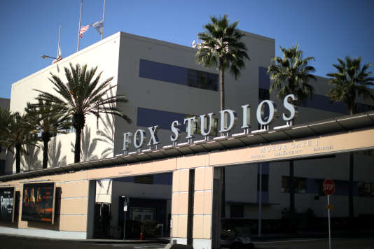 L'immeuble de la 21st Century Fox Studios à Los Angeles.