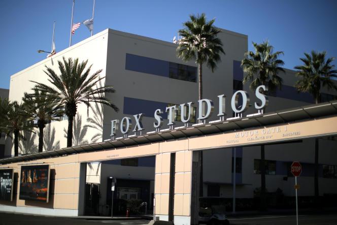 L'immeuble de la 21st Century Fox Studios à Los Angeles.