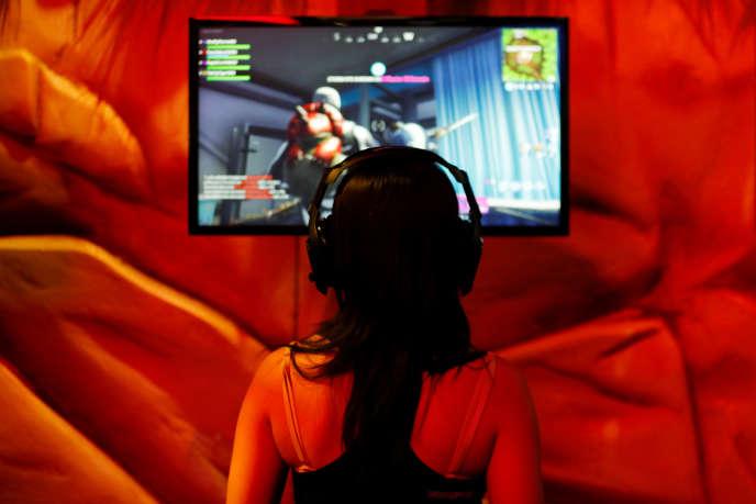 Au salon international du jeu vidéo E3 de Los Angeles en juin.