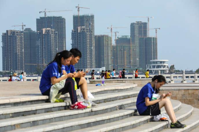 Dans la province chinoise du Hainan, à Haikou, le 22 avril.