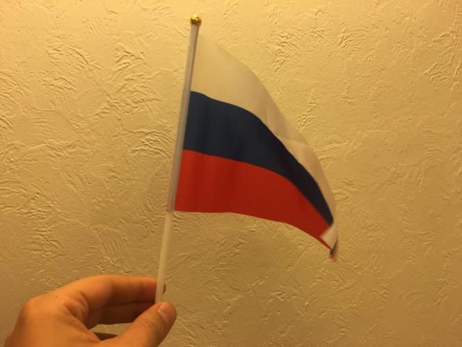 Notre nouveau drapeau, preuve en image.