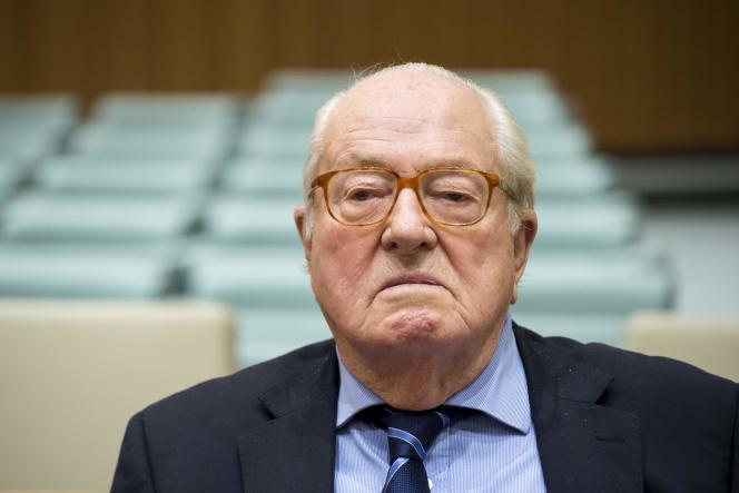 Jean-Marie Le Pen le 23 novembre 2017.