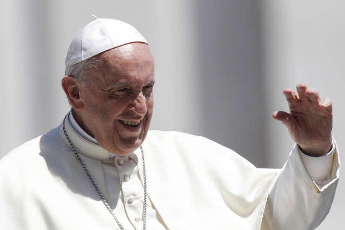 Le pape François, le 13 juin au Vatican.