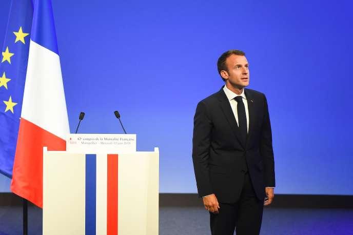 Au Congrès de la Mutualité française, à Montpellier, le 13 juin.