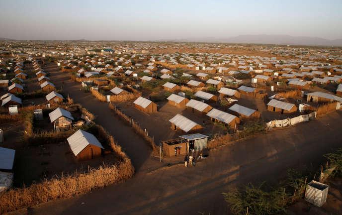 Le camp de réfugiés de Kakuma, dans le comté de Turkana, au nord-ouest de Nairobi, au Kenya, en janvier 2018.