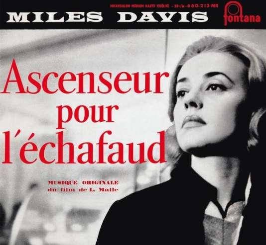 Pochette du double CD «Ascenseur pour l'échafaud», de Miles Davis.