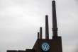 (FILES) This file photo taken on April 13, 2018 shows the plant of German car maker Volkswagen (VW) in Wolfsburg, central Germany. In connection with the diesel scandal, the public prosecutor's office in Braunschweig has imposed a fine of one billion euros on the car manufacturer Volkswagen. / AFP / Odd ANDERSEN