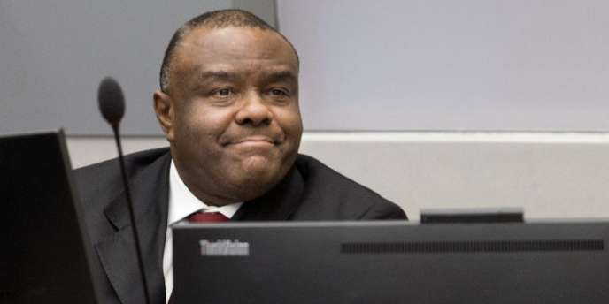 Jean-Pierre Bemba lors de son procès devant la Cour pénale internationale, en mars 2016, à La Haye.