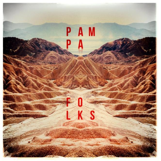 Pochette de l'album« South by West», de Pampa Folks.