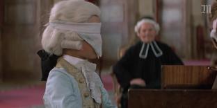 Une image extraite du film «Amadeus», de Milos Forman (2002).