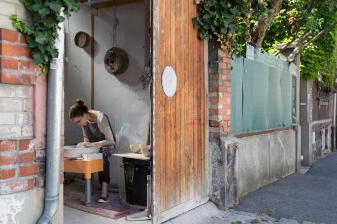 Atelier Vents&Courbes au Pré-Saint-Gervais.