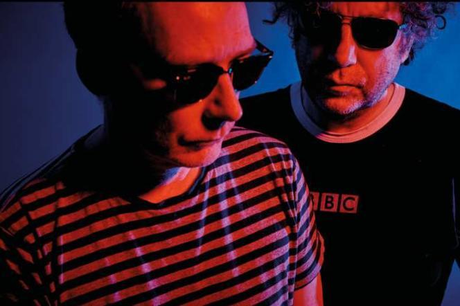 Les frères Jim et William Reid de The Jesus & Mary Chains.