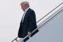 Donald Trump, le 13 juin sur la base Andrews, dans le Maryland, à son retour de Singapour, où il a rencontré Kim Jong-un la veille.