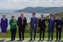 Les dirigeants du G7 lors de leur sommet, à La Malbaie (Québec), le 8 juin.