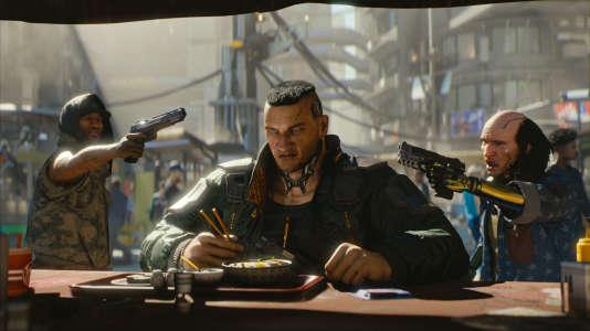 « Cyberpunk 2077» s'inspire du jeu de rôle éponyme, publié à la fin des années 1980.