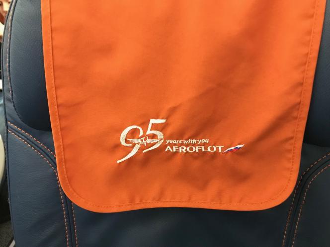 La compagnie nationale russe, Aeroflot, fête ses 95 ans. Jamais sans sa faucille et son marteau.
