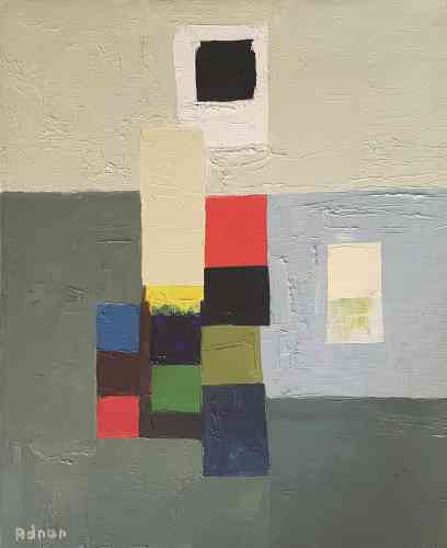«On est ici dans la vibration colorée, dans une énergie pure. On note l'influence de Paul Klee, qui s'essaie à juxtaposer sur une grille différentes tonalités et couleurs. Cette œuvre est liée à l'univers de la musique et du jazz : il y a ce rapport de jubilation des formes et des tonalitésentre elles.»