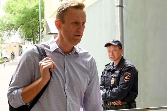 Alexeï Navalny, le 15 juin 2018 à Moscou.