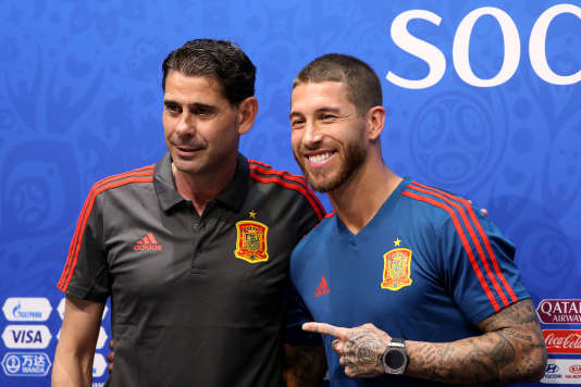 Sergio Ramos et son adjoint.