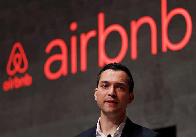 Nathan Blecharczyk, co-fondateur et responsable de la stratégie d'Airbnb.