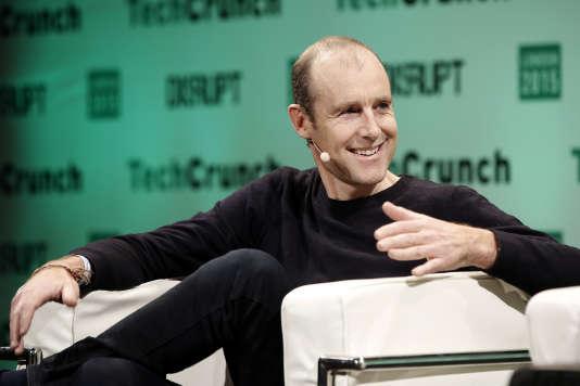 Pieter van der Does, cofondateur de Adyen, à Londres en décembre 2015.