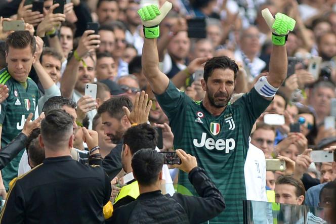 Gianluigi Buffon, le 19 mai 2018 à Turin