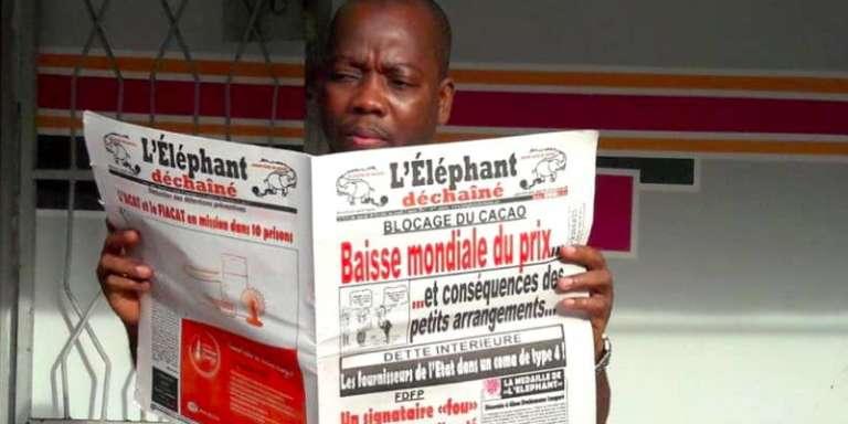 Tiémoko Antoine Assalé, fondateur de l'hebdomadaire ivoirien « L'Eléphant déchaîné».