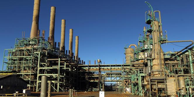 Le terminal pétrolier de Ras Lanouf, au sud-ouest de Benghazi, en janvier 2017.