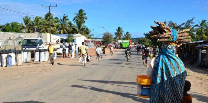 A Macomia, dans le nord du Mozambique, le 11juin 2018.