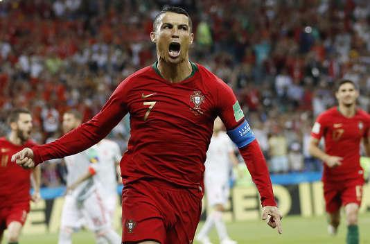 Ronaldo a inscrit un triplé contre l'Espagne, vendedi 15 juin.