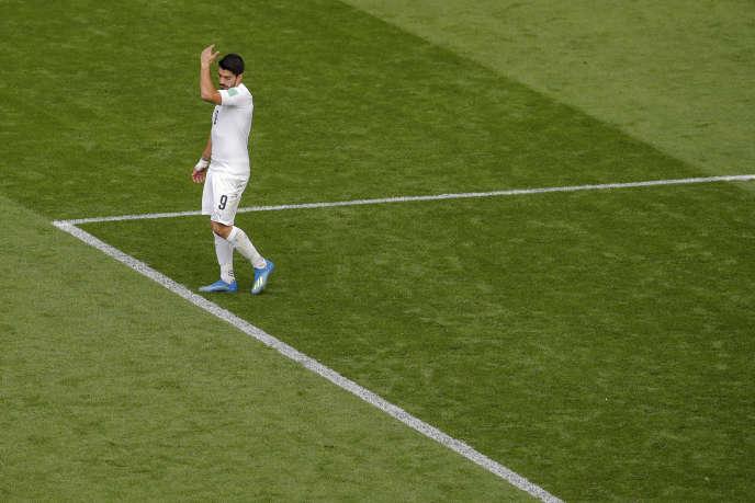 Luis Suarez a connu un match difficile malgré la victoire de son équipe.