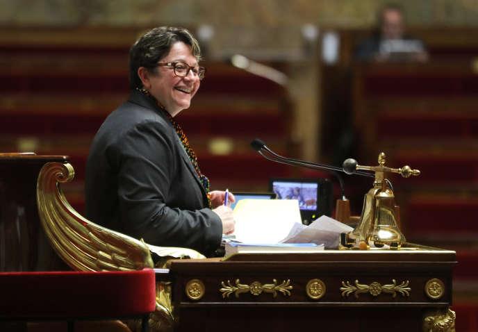 La vice-présidente de l'Assemblée, Carole Bureau-Bonnard, le 24 janvier 2018.