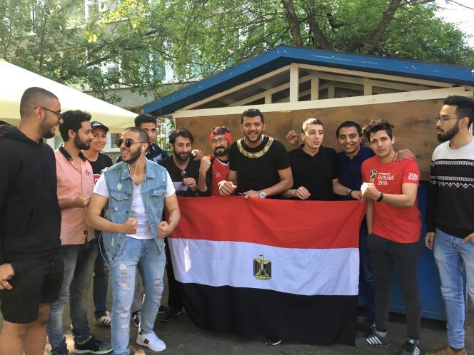 Mohamed Ellathy et quelques amis.